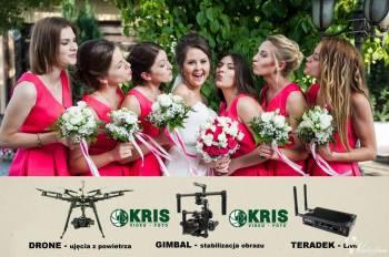 VIDEO-FOTO-KRIS kamerzysta i fotograf. Transmisja na żywo ! Drony !, Kamerzysta na wesele Nowy Sącz