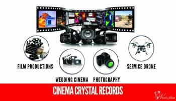 Cinema Crystal Records - Kompleksowa produkcja filmowa, Kamerzysta na wesele Suwałki
