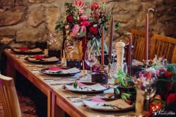 Florystyka ślubna i dekoracje., Dekoracje ślubne Złoty Stok