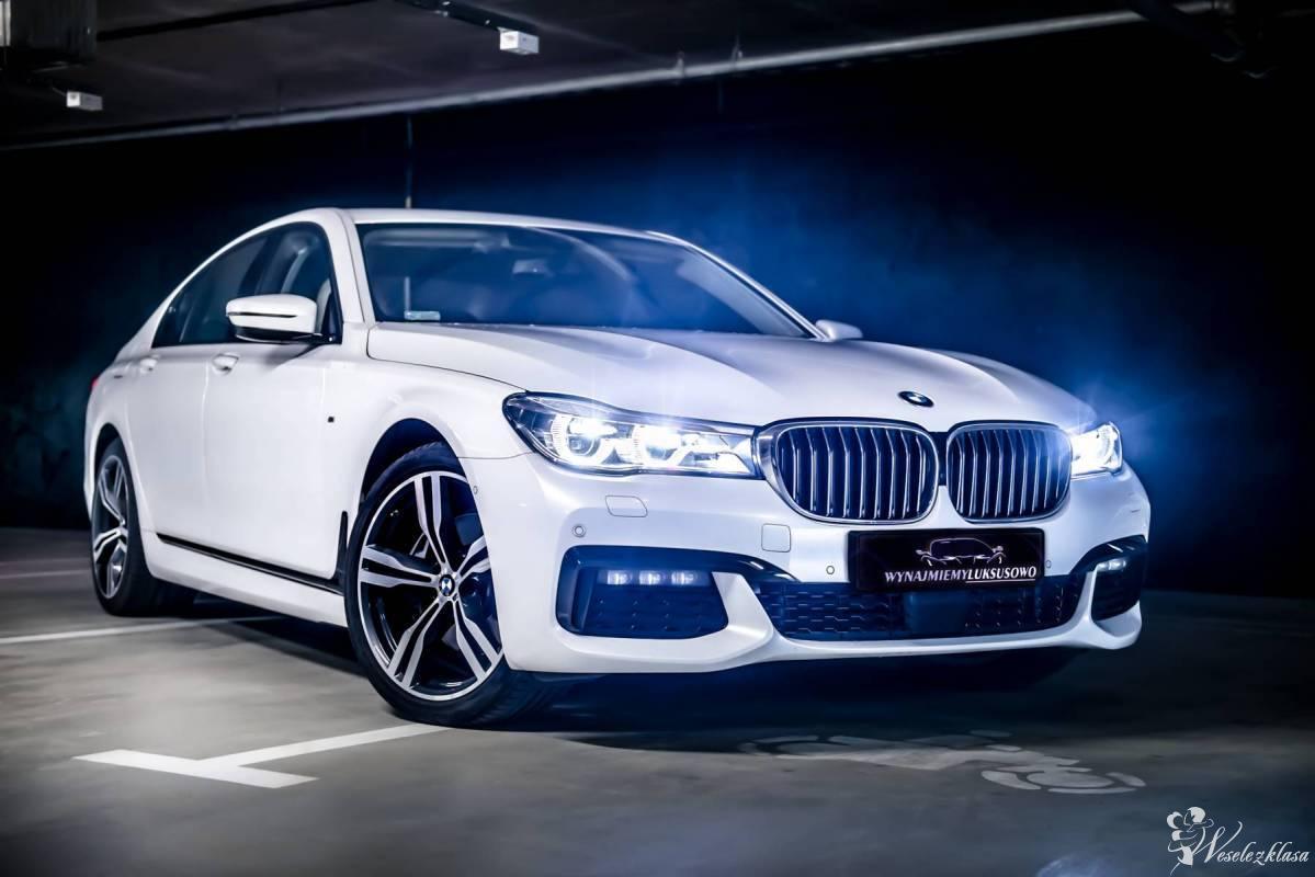*Nowe* białe BMW serii 7 do ślubu || Wolne terminy, Taczów Mały - zdjęcie 1