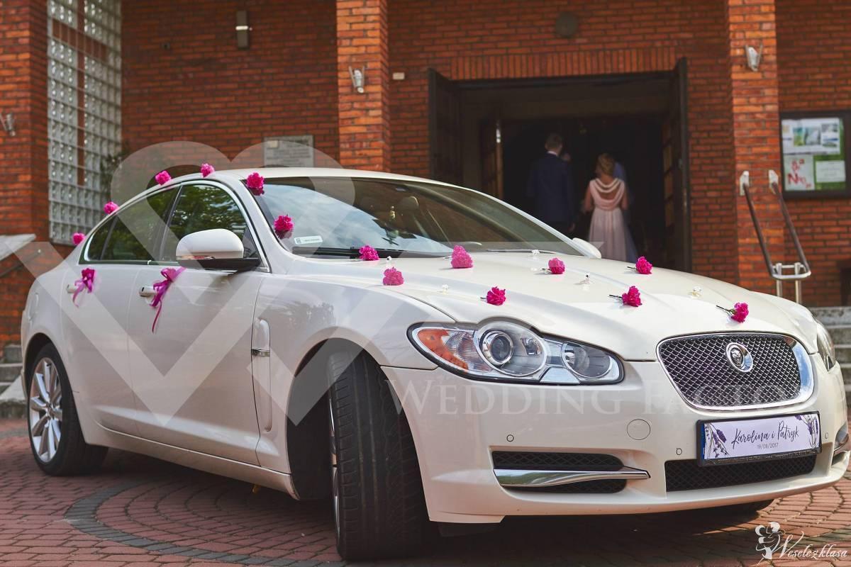 Samochód do Ślubu JAGUAR XF-S BiałaPerła Auto na wesele limuzyna, Siedlce - zdjęcie 1
