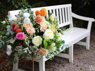 Niebieskie Drzwi- pracownia dekoracji bukiety ślubne- pakiety promocji, Kwiaciarnia, bukiety ślubne Szprotawa