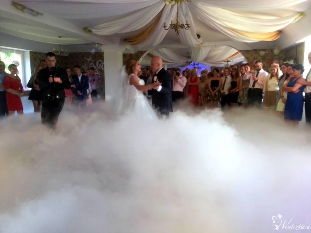 Ciężki dym, Taniec w chmurach, banki mydlane, dekoracj na Twoim weselu, Koszalin - zdjęcie 1