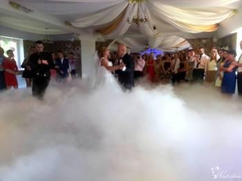 Ciężki dym, Taniec w chmurach, banki mydlane, dekoracj na Twoim weselu, Balony, bańki mydlane Szczecin