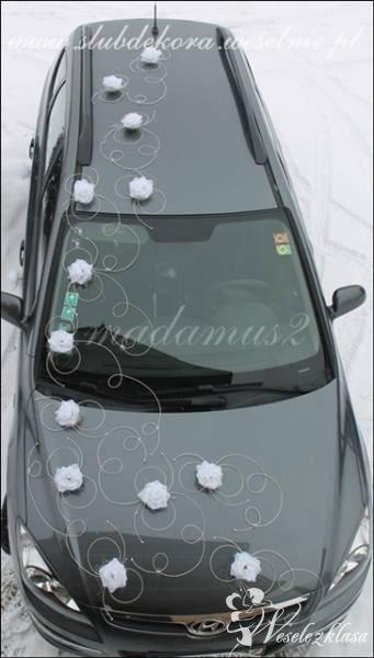 Dekoracje ozdoby samochodu na ślub wesele !, Oświęcim - zdjęcie 1