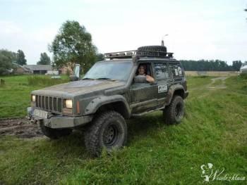JEEP 4X4 XJ przerobiony duży przeprawowy Jeep XJ , Samochód, auto do ślubu, limuzyna Kleszczele