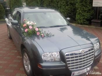 Samochód do ślubu - Chrysler 300, Samochód, auto do ślubu, limuzyna Toszek
