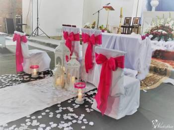 JUTO - Wypożyczenie pokrowców na krzesła, Artykuły ślubne Oleśnica
