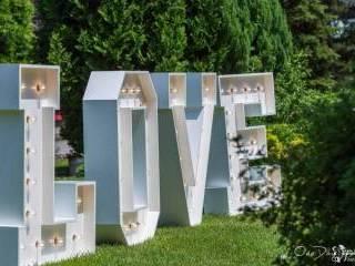 Napis Love Podświetlany Retro,  Głogówek