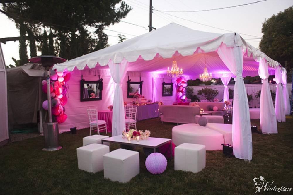 Wypożyczalnia namiotów, namioty imprezowe, namiot do ślubu, plener, Januszkowice - zdjęcie 1