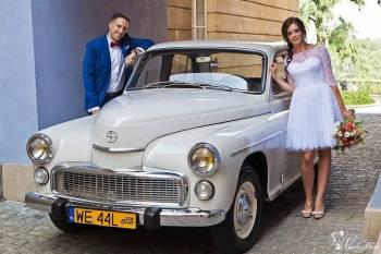 Podróż sentymentalna samochodem - *WARSZAWA* z 1970r., Samochód, auto do ślubu, limuzyna Wyszków