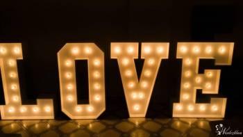 Wynajem napisów świetlnych Love oraz Miłość, Napis Love Mysłowice
