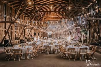 WIÓROWNIA - drewniane dekoracje ślubne, Artykuły ślubne Dąbie