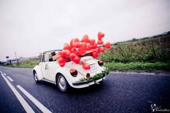 CABRIO oryginalne  zabytkowe  Garbus VW, Samochód, auto do ślubu, limuzyna Pszów