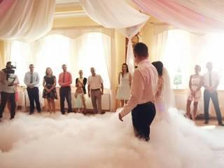 JUTO- Wytwornica dymu ciężkiego, taniec w chmurach,  Legnica