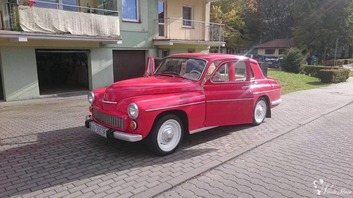 Wyjątkowa *Warszawa* do ślubu w kolorze czerwonym, Olsztyn - zdjęcie 1