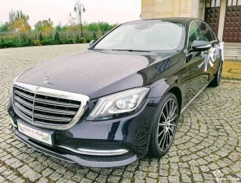 Tylko Mercedesy !!! S i ... Oferta dla fanów stuttgartskiej, Samochód, auto do ślubu, limuzyna Mława
