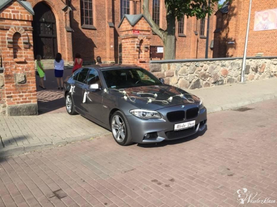 Auto limuzyna do ślubu imprez wesele BMW F10 Mpakiet wynajem, Chełmek - zdjęcie 1