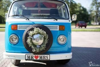 VW Ogórek T2 auto do ślubu, Samochód, auto do ślubu, limuzyna Józefów