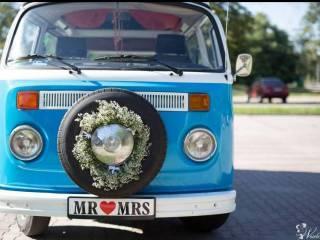VW Ogórek T2 auto do ślubu,  Józefów