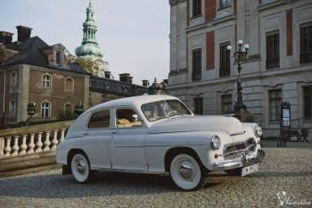 samochód retro *warszawa* m20 auto fiat 500 zabytkowy wynajem, Samochód, auto do ślubu, limuzyna Bardo