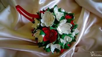 Dekoracje - kwiaty, kule, bukiety, girlandy, wachlarze, Dekoracje ślubne Jawor