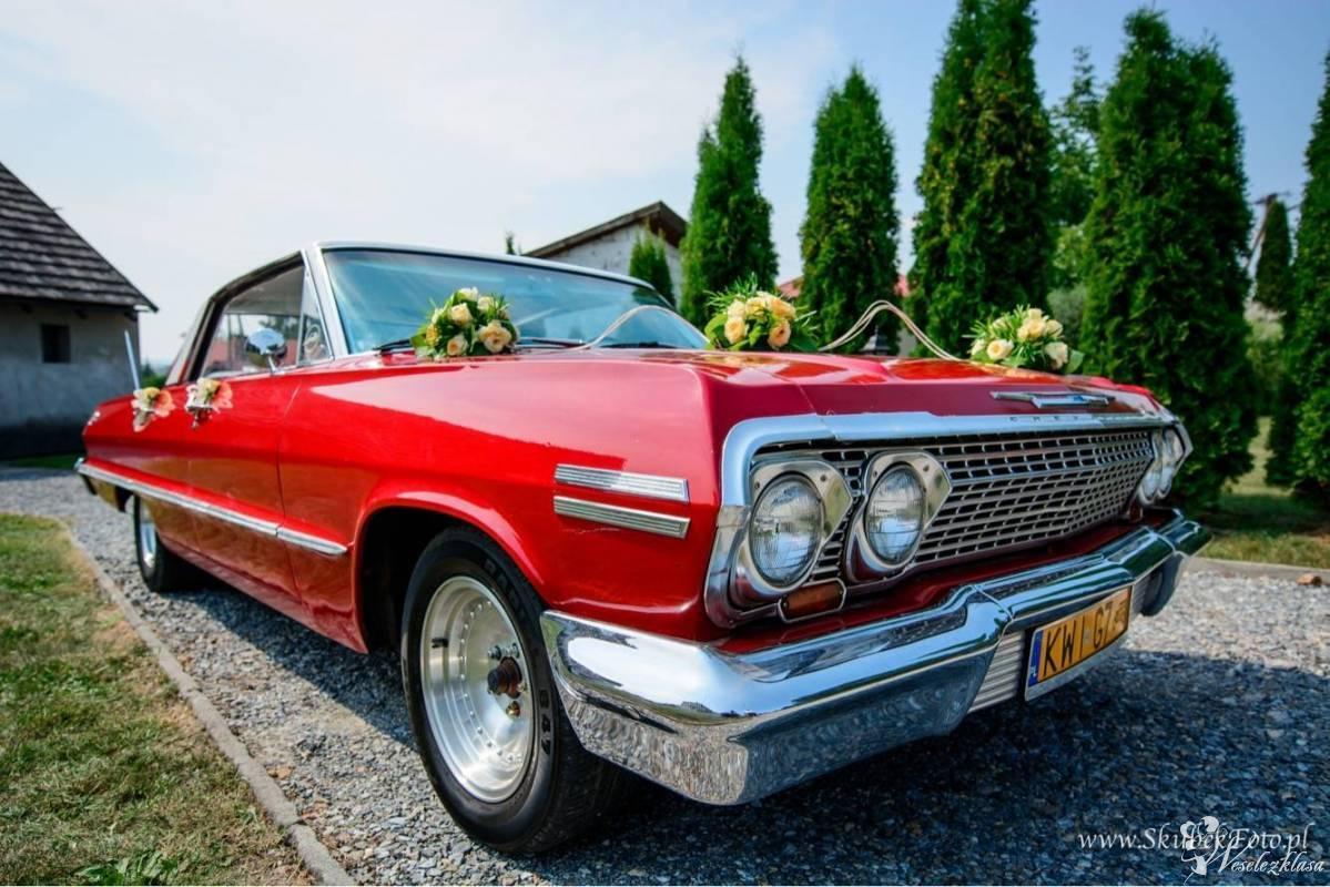 Impala '63 - auto z kierowcą , Niepołomice - zdjęcie 1