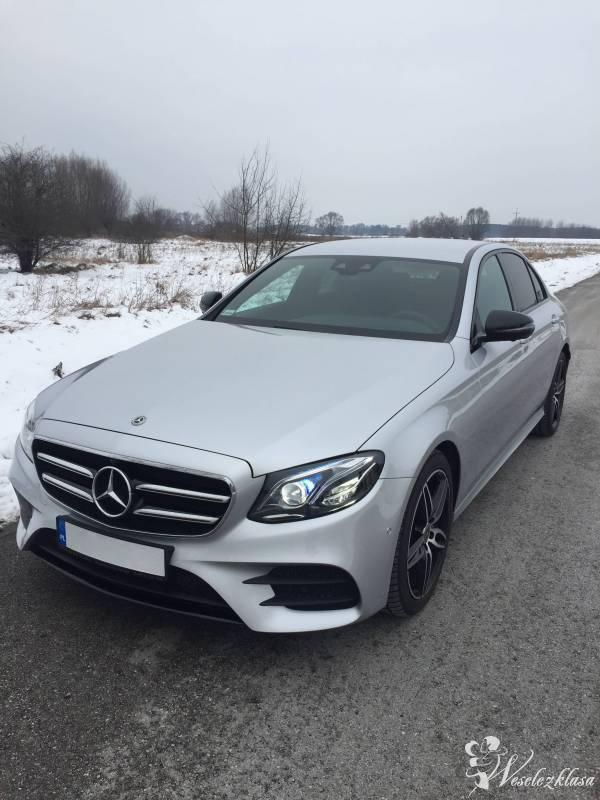 Nowy Mercedes-Benz E220D AMG 4Matic. Auto do ślubu. Wynajem. Tanio, Warszawa - zdjęcie 1