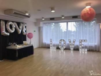 balony z helem, Dekoracje Adriana, Balony, bańki mydlane Lublin