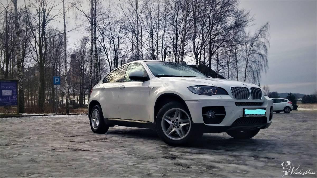 BMW X6 Auto do Ślubu Piękne Niezapomniane Białe, Częstochowa - zdjęcie 1