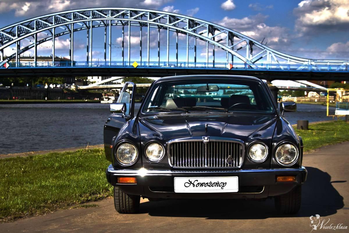 Klasykiem do ślubu, wyjątkowy Jaguar - elegancko z klasą, Kraków - zdjęcie 1