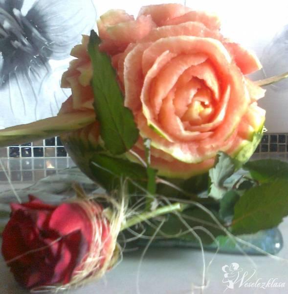 Rzezby w owocach i warzywach -carving, Kielce - zdjęcie 1