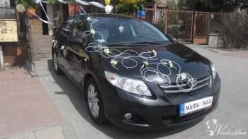 CZARNA TOYOTA COROLLA - PRESTIGE  , Samochód, auto do ślubu, limuzyna Czechowice-Dziedzice