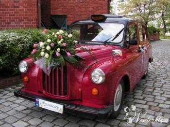 Zabytkowy Samochód do Ślubu - AUSTIN London Taxi, Samochód, auto do ślubu, limuzyna Bardo
