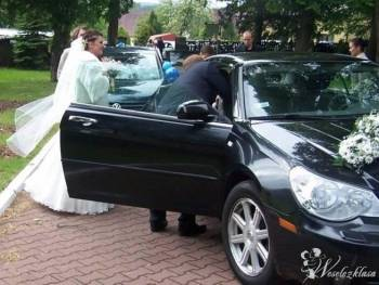 kabrioletem do ślubu, Samochód, auto do ślubu, limuzyna Węgorzyno