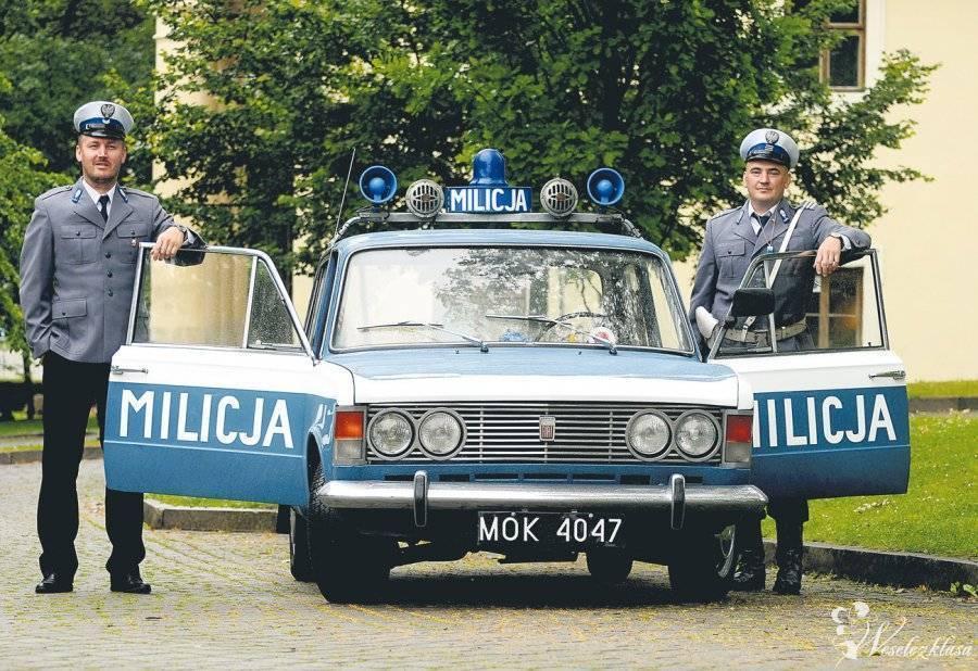 Milicja fiat 125p do Ślubu, Kraków - zdjęcie 1