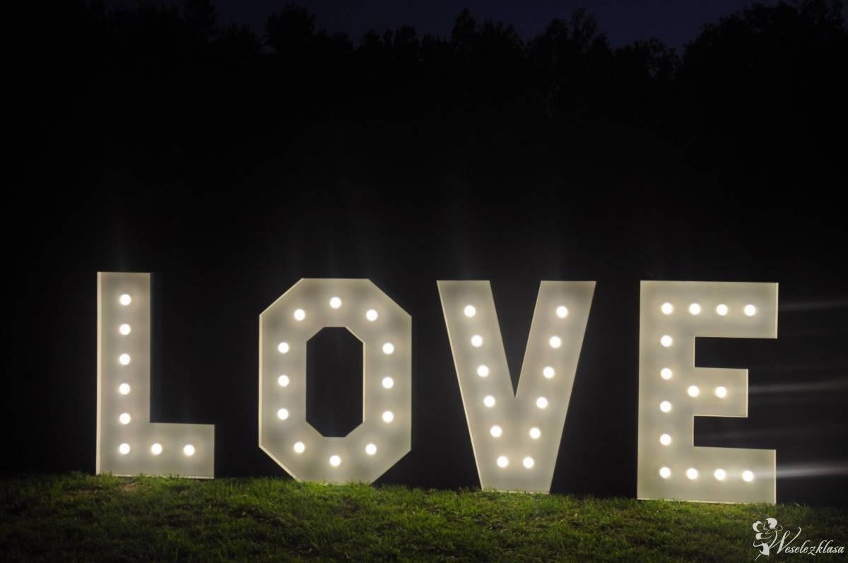 """Napis """" LOVE"""" / Balony Led/ Dekoracja, Poznań - zdjęcie 1"""