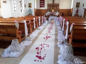 Dekoracje Sal weselnych i Kościołów , Dekoracje ślubne Chorzele
