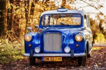 Zabytkowe auto do ślubu - Austin Blue London Taxi, Samochód, auto do ślubu, limuzyna Zgorzelec