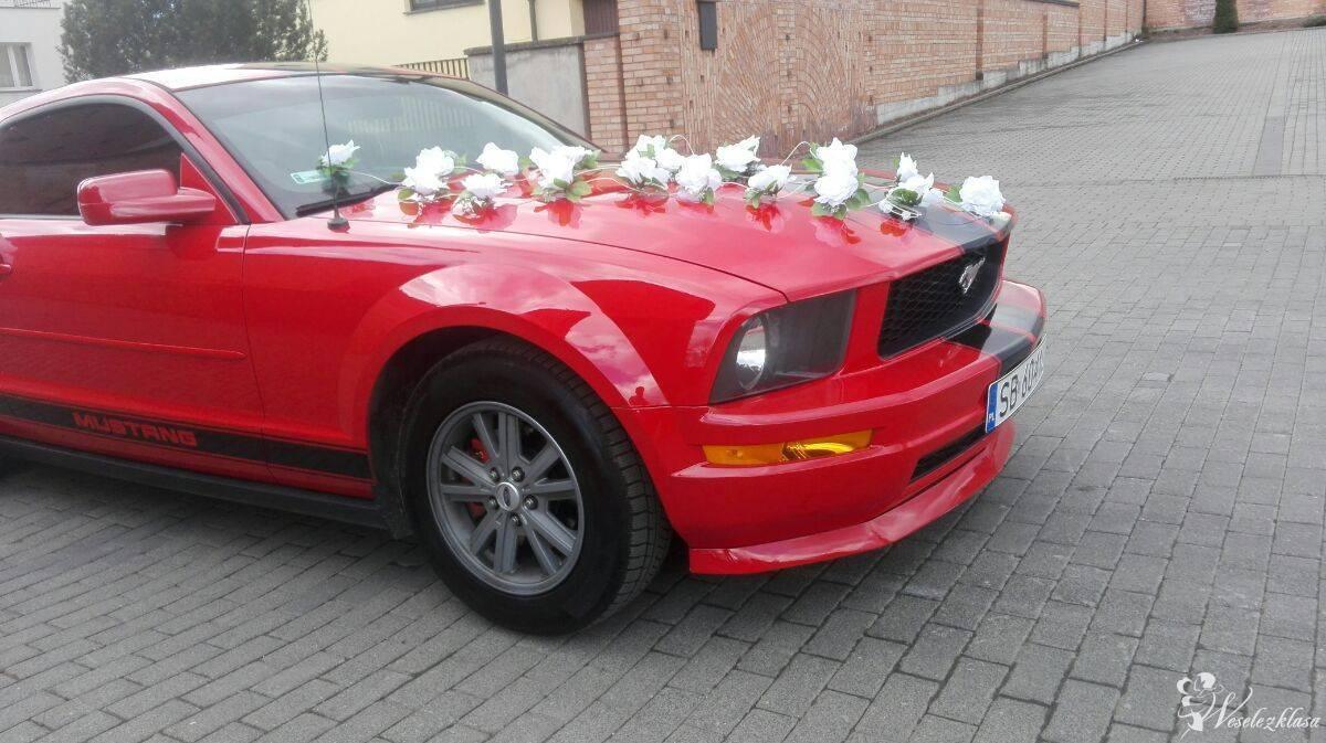 Ford Mustang Samochód do Ślubu auto na wesele Wynajem, Czechowice-Dziedzice - zdjęcie 1