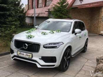 Białe VOLVO XC 90 T8, Samochód, auto do ślubu, limuzyna Gdańsk