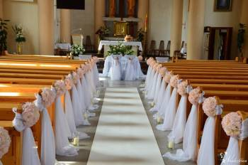 Dekoracja kościoła na ślub, Napis Love Led, dekoracje okolicznościowe, Artykuły ślubne Jabłonowo Pomorskie