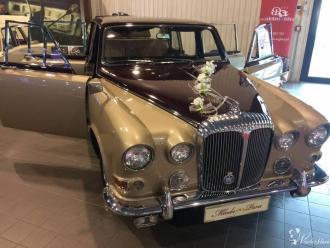 Auto do ślubu, samochody zabytkowe, limuzyna na ślub, samochód Daimler,  Warszawa