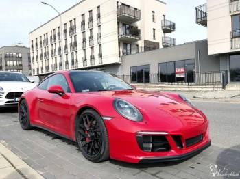 Porsche 911, Porsche Macan, Ford Mustang GT, Samochód, auto do ślubu, limuzyna Myślibórz
