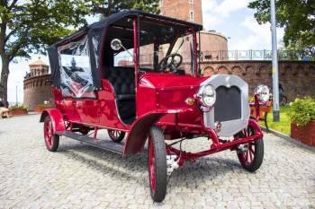 Unikalny pojazd elektryczny w stylu retro: śluby, wesela, chrzciny, Samochód, auto do ślubu, limuzyna Myślibórz