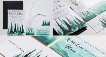 DEER Guests - Zaproszenia i dodatki ślubne, Zaproszenia ślubne Siewierz