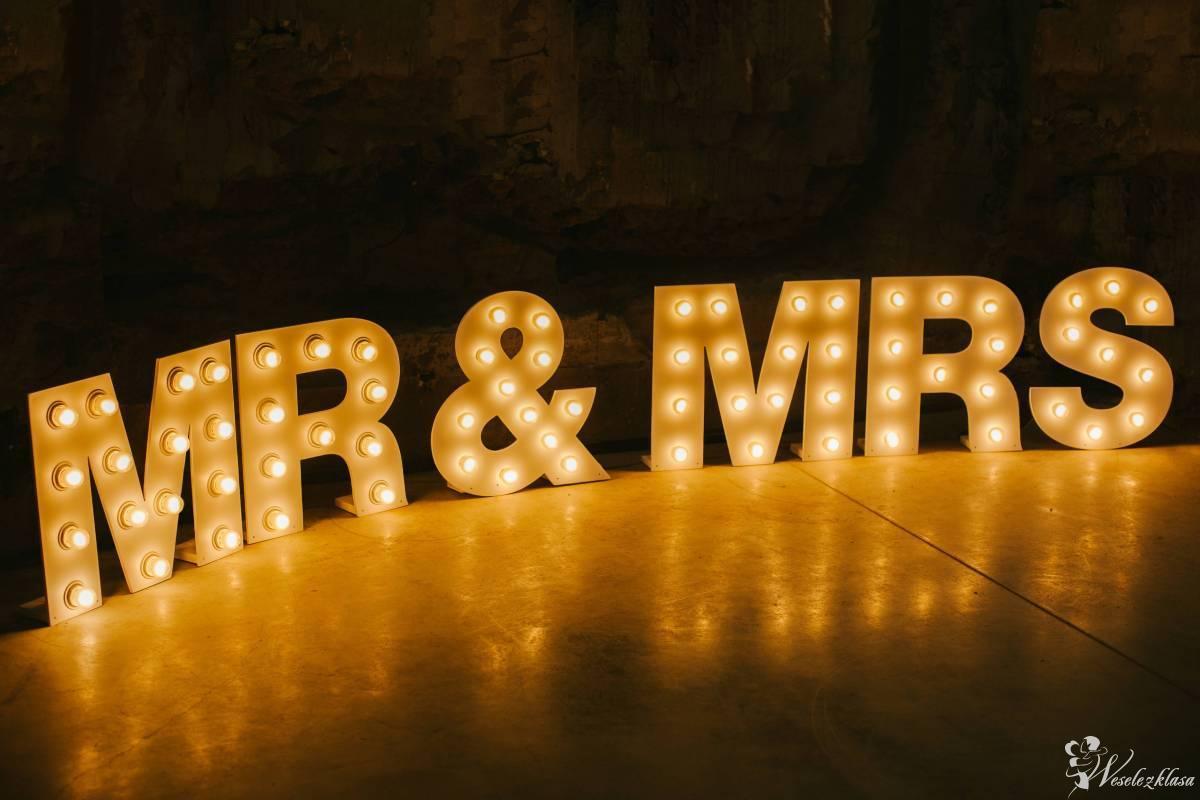 Podświetlane napisy LOVE oraz MR&MRS; LED! Wolne terminy na 2018/2019!, Nowy Targ - zdjęcie 1
