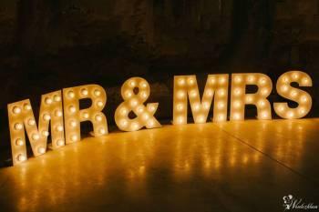 Podświetlane napisy LOVE oraz MR&MRS; LED! Wolne terminy na 2018/2019!, Napis Love Myślenice