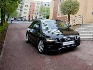 Auto AUDI A4 z kierowcą do ślubu, na wesele | Wolne terminy 2018 r.!,  Częstochowa