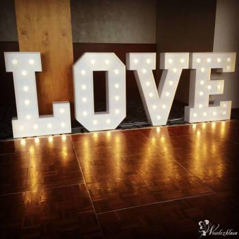 Napis LOVE 120cm + Fotobudka , Napis Love Żukowo